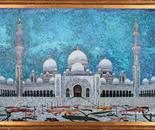 Sheikh Zayed Grand Mosque mosaic