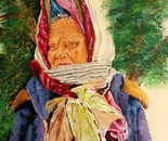 Kerchiefs seller,