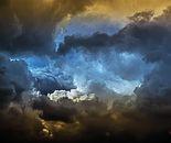 """""""Clouds above Ein Hod"""" 3"""