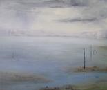 Paysage de Mer, la Lagune, l'Hiver