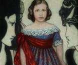 Oscar Wilde 90 x 70  Oil, Canvas