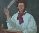 PUSHKIN      75 x 75  Oil, Canvas