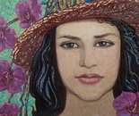 Portrait Young Lady 50x70