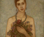 Womens portrait 90x70