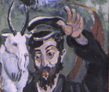 Jewish tailor and his goat