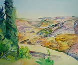 Mount Gilboa. Israel