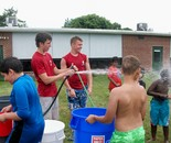 Water Day; DES  Summer Fun Center July 2014