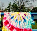 Tie Dye project; DES Summer Fun Center July 2014
