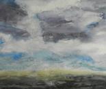 Grey Wyoming Sky