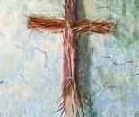 The Cross, 45.5x61cm