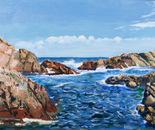 Perth Sea Scape, 61x45.5cm