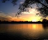Sunset on Silver Lake