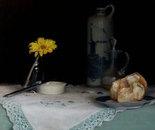 Bread and Gerbera