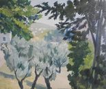 Jerusalem. The Olives