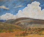 Landscape With the Clouds
