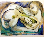 "Miami Rhapsody, Acrylic on Canvas, 30"" x 40"""