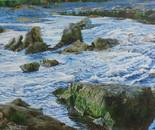 Dusk Hutt River at Mangaroa Turn Off