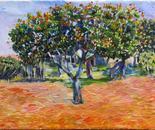expressionism/ oil paint/ kurdistan of iran/