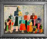 pointillism/ oil paint/ iran/ mohammad ali saeidpanah