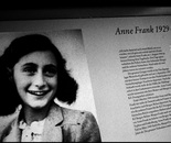 19. A portrait of Anne Frank...