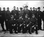 23. A group photo of SS - men...