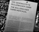 24. The sign of the memorial Bullenhuserdamm...