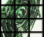 TIME BEHIND BARS in GREEN