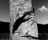 4. A menhir in Brittany