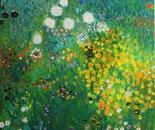 Homage to Gustav Klimt: Garden
