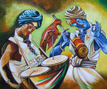 Celebrations- Acrylic on Canvas