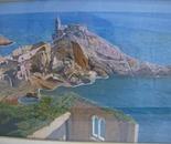 LG 0095 - Liguria Porto Venere la baia di Byron - olio su tela - cm. 60x40