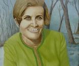 LG 0104 - Ritratto di Maria Bruna - olio su tela - cm. 40x50