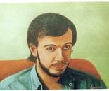 LG 0136 - Ritratto di Michele - olio su tela - cm. 40x30