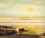 LG 0139 - Verso il tramonto - olio su tela - cm. 40x30