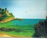 LG 0147 - Spagna Lloret de mar - olio su tela - cm. 27x22