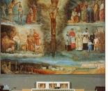 """LG 0160 - Altare chiesa di S.Giovanni di Riolo - olio su ceramica - mt. 10x10"""""""