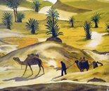 LG 0298 - Tuareg - olio su tela - cm. 30,5x18,5