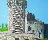 LG 0306 - Castel Govone Finale Ligure - olio su tela - cm. 20x30