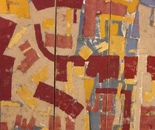 200x150  cm  Triptic mixed media on canvas