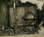 Still life of Antiques