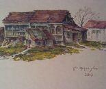 Houses in the Uphlistsikhe