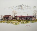 The village in the mountains