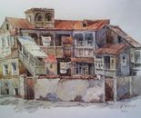 House in  the old Tbilisi