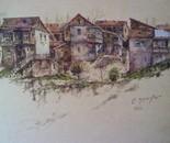 Old houses near Metekhi