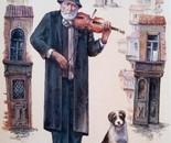 Wandering violinist