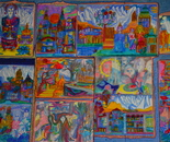 The Whole Universe Cultures Contamination Polyptych