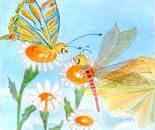 La Farfalla e la Libellula