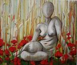 Nude in a Poppy Field