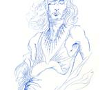 Blue Sketch #2