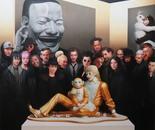 ART FAIR Oil on canvas - 200 cm x 200 cm